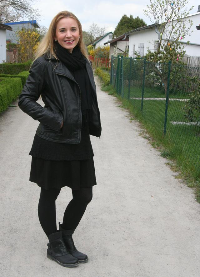 Outfitprojekt 30 Tage im Schwarz-Weiß-Look Outfit 22 03