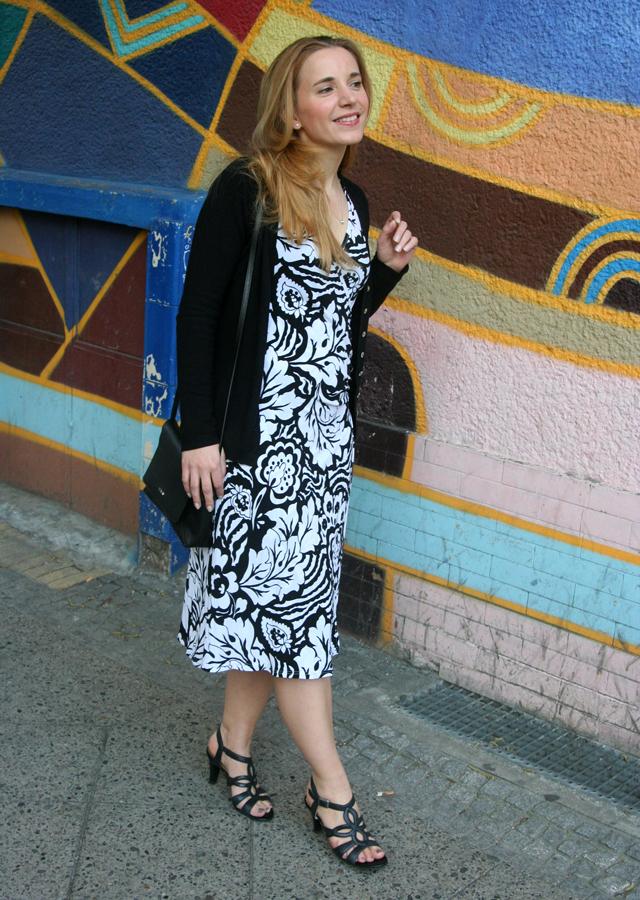 Outfitprojekt 30 Tage im Schwarz-Weiß-Look Outfit 23 03