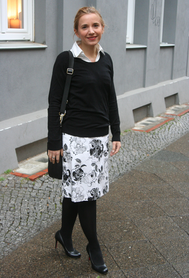 Outfitprojekt 30 Tage im Schwarz-Weiß-Look Outfit 27 02