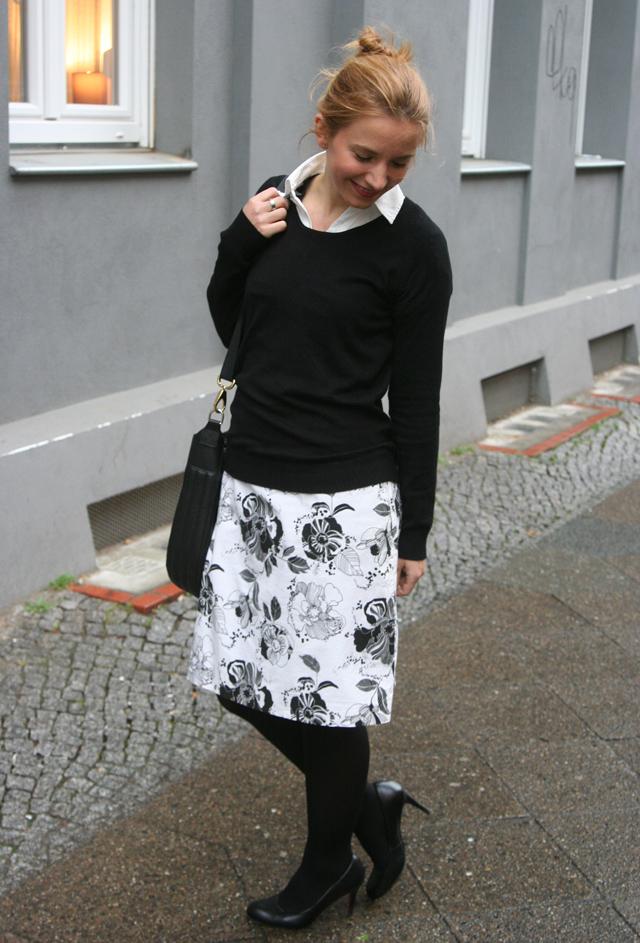 Outfitprojekt 30 Tage im Schwarz-Weiß-Look Outfit 27 04