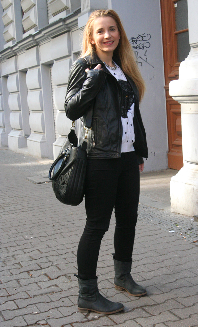 Outfitprojekt 30 Tage im Schwarz-Weiß-Look Outfit 30 02