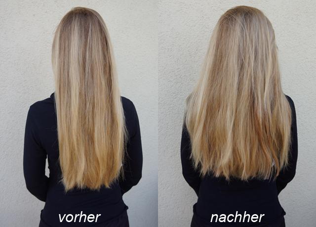 Traumhaft-lange Haare mit Clip-In Extensions von Rubin 03