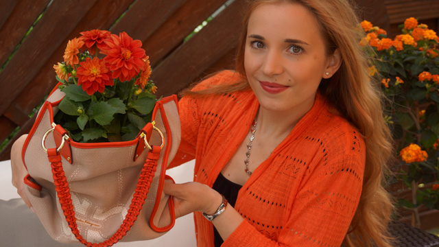 Bag2Peace Bepflanzte Handtaschen helfen Flüchtlingskindern 01
