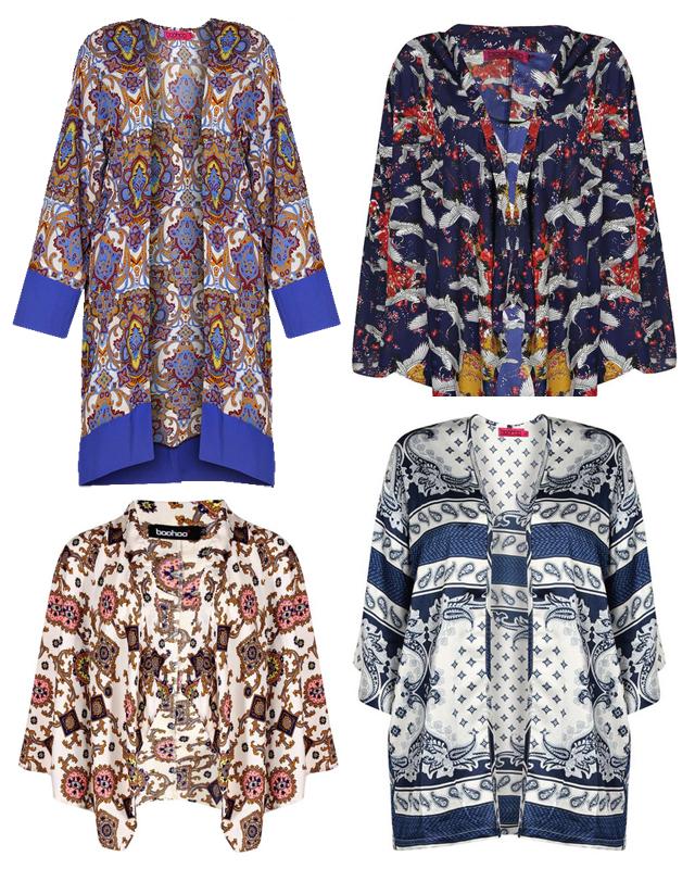 Kimono-Jacken boohoo