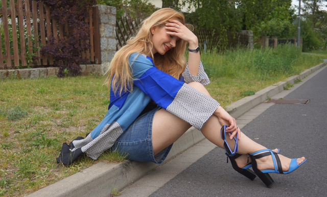 Outfit Blue Love Peperosa Shoes 4