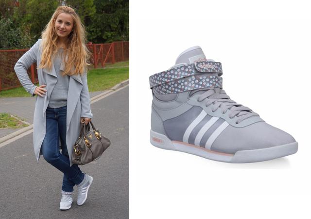 Rhythm Mid Schuh adidas Outfit