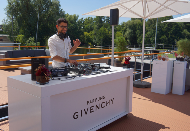 Givenchy & Kenzo Event auf dem Dom Perignon Hausboot 04