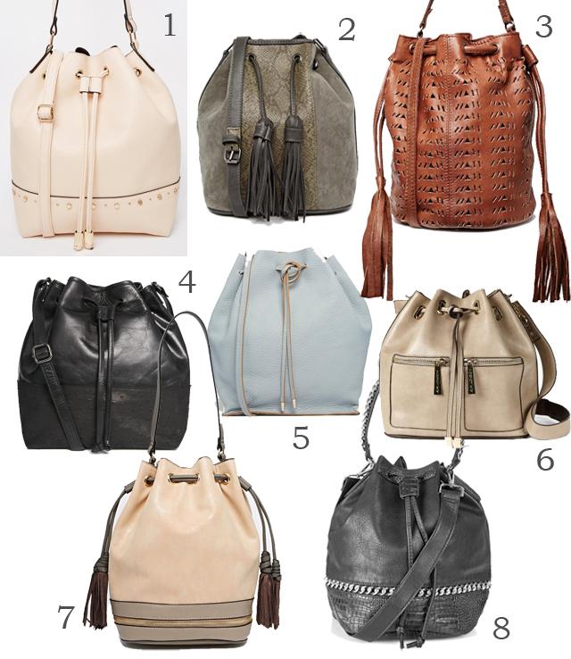 10 günstige Bucket Bags Beuteltaschen 01