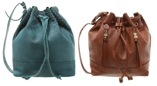 10 günstige Bucket Bags Beuteltaschen