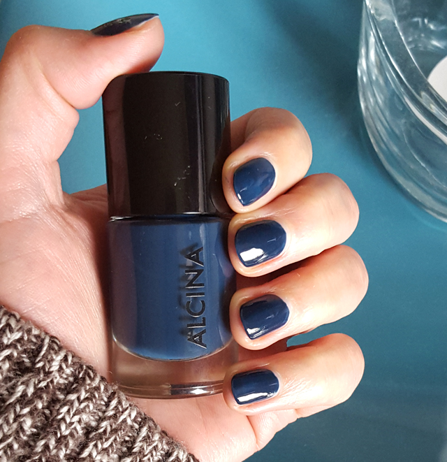 Alcina Nagellack ocean dark blue blau