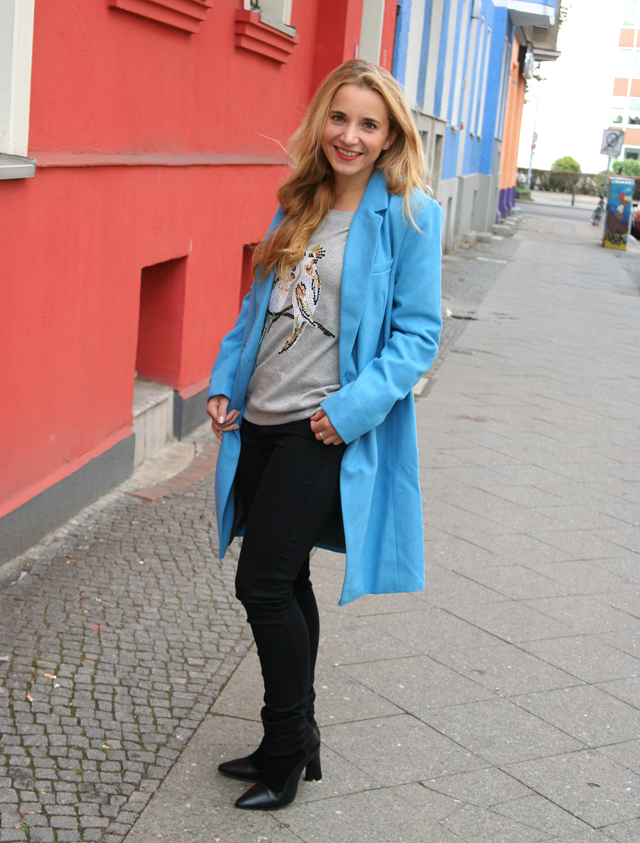 Outfit OTTO blauer Mantel Bruno Banani 02