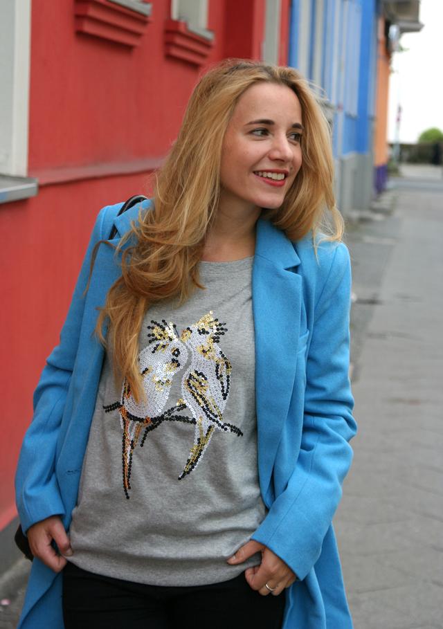 Outfit OTTO blauer Mantel Bruno Banani 06