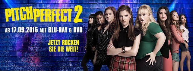 Pitch Perfect 2 - Der Film auf DVD Gewinnspiel
