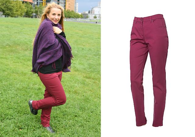 Outfit Hose Esther Himmelblau by Lola Paltinger HSE24