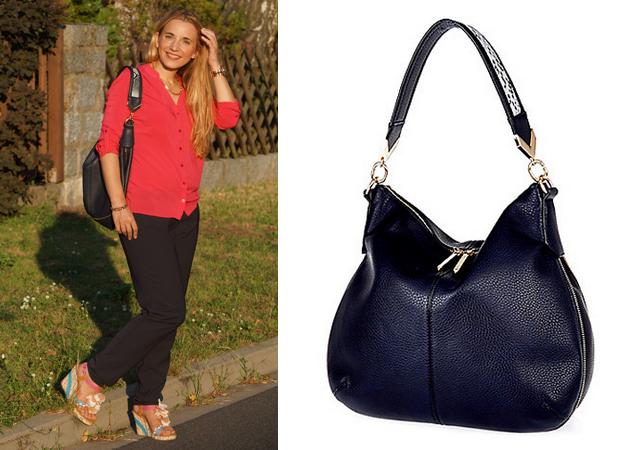 Outfit River Island Handtasche blau