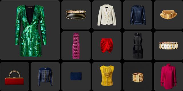 Balmain x H&M Kollektion Damen 05