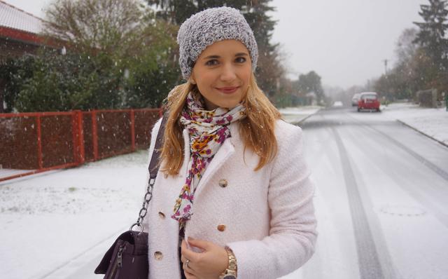 Outfit Weiß wie Schnee Caravelle New York Uhr 01