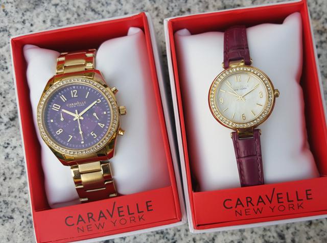 Purpur-strahlende Uhren von Caravelle New York 01