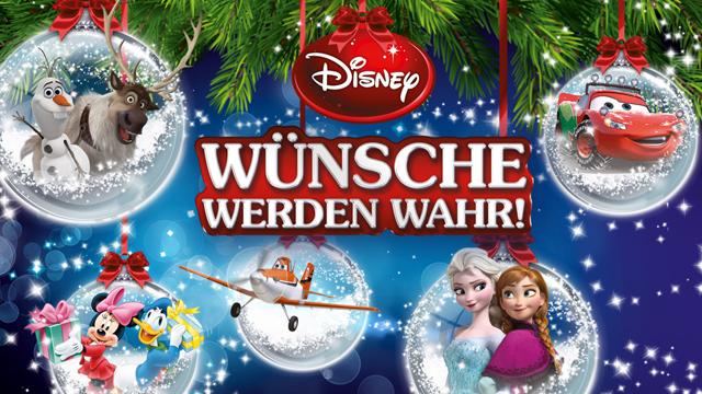 Disney-Weihnachtspaket Gewinnspiel