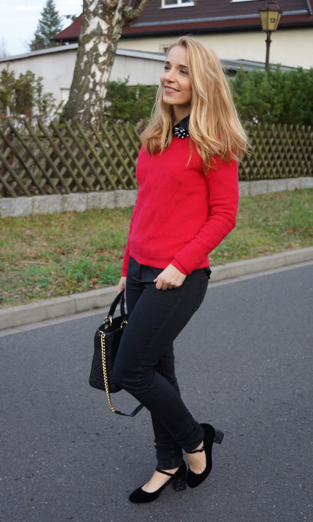 Outfit Boden Glitzer-Spangenpumps 04