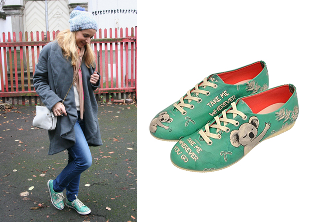 Outfit Dogo Koala Schuhe