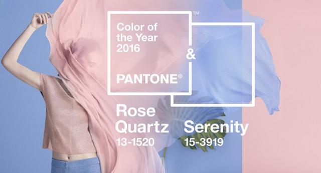Trendfarbe 2016 Rose Quartz PANTONE 13-1520
