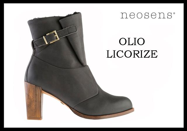 Schuh Neosens Outfit Olio Gloria Schwarz