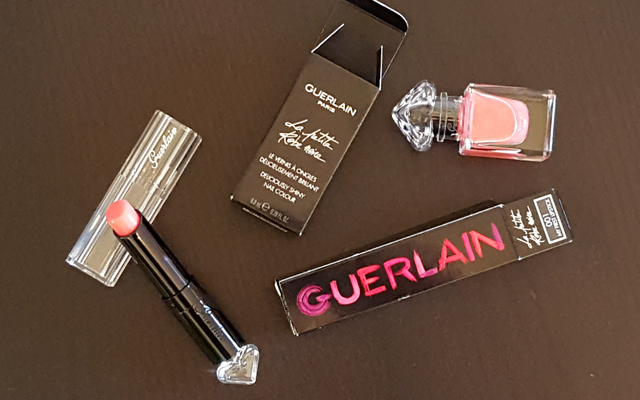 GUERLAIN La Petite Robe Noire Make-up 001 My First Lipstick & Nail Polish 01