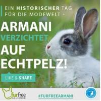 Armani wird Pelzfrei