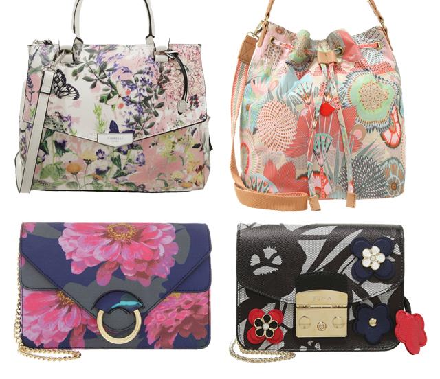 Flower Power Handtaschen mit Blumen 02