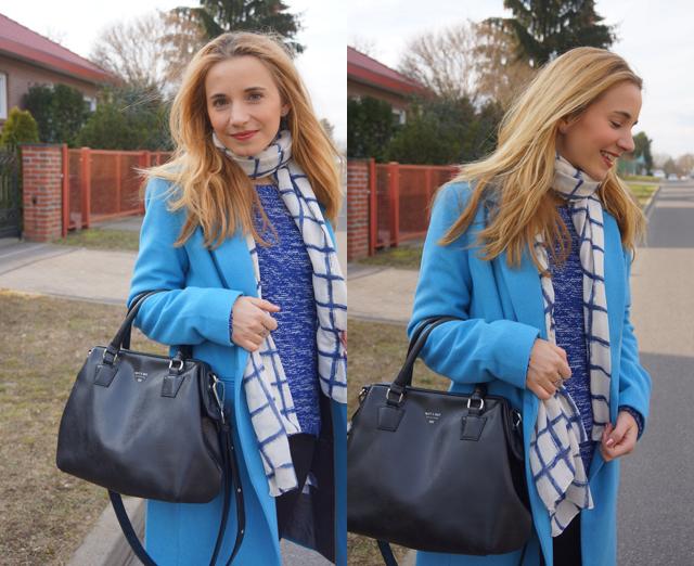 Outfit Blauer Mantel Bruno Banani 05