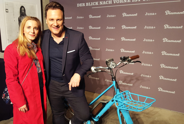 DIAMANT JUNA E Bike mit Guido Maria Kretschmer 04