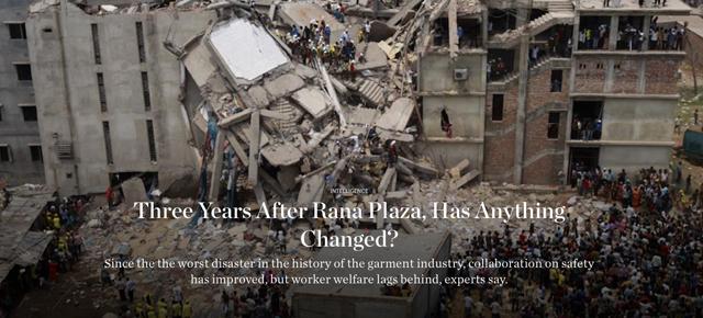 Drei Jahre nach Rana Plaza