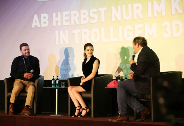 Justin Timberlake stellt Film TROLLS in Berlin vor 01