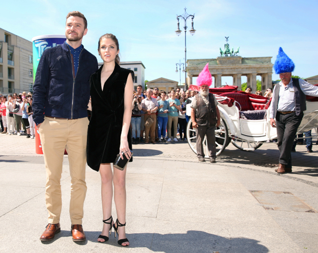 Justin Timberlake stellt Film TROLLS in Berlin vor 02