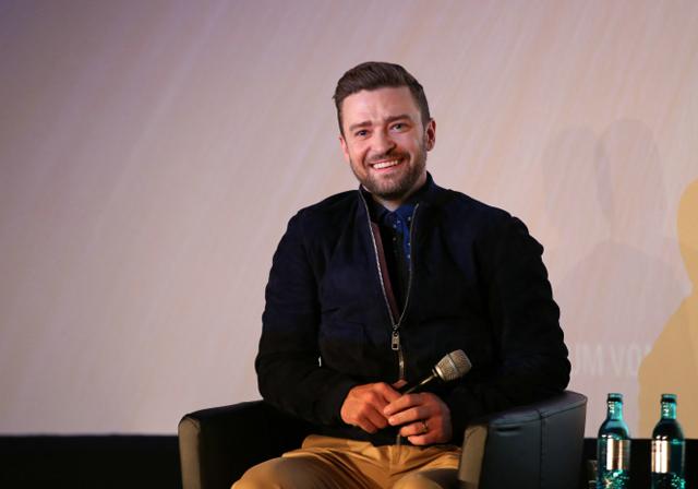 Justin Timberlake stellt Film TROLLS in Berlin vor 03