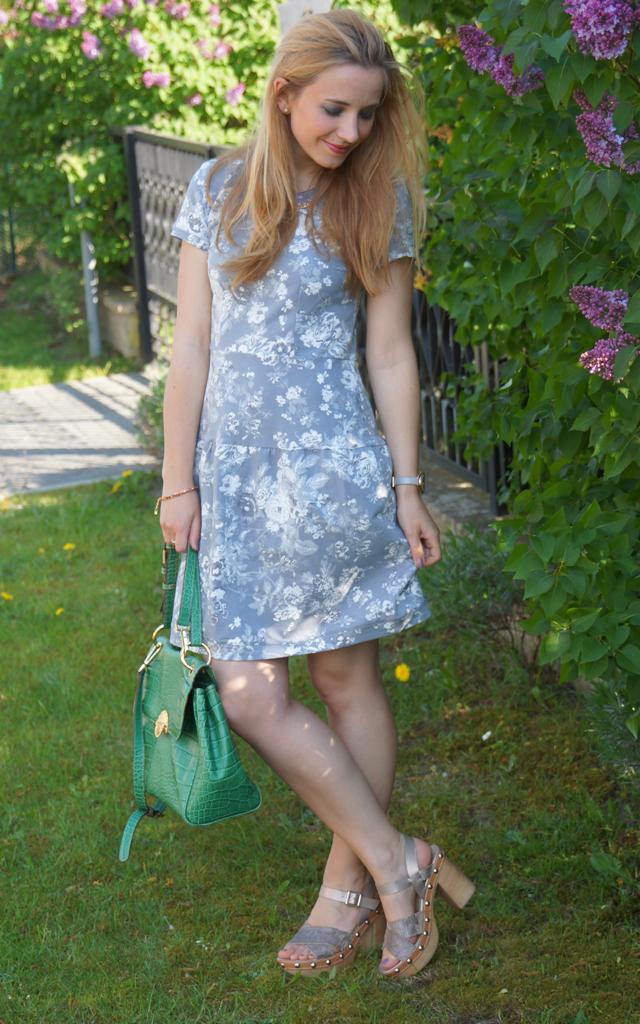 Outfit Peperosa Clogs Vive Maria Smoky Rose Dress Grey 05