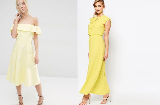 Gelbe Kleider 01