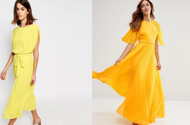 Gelbe Kleider 02