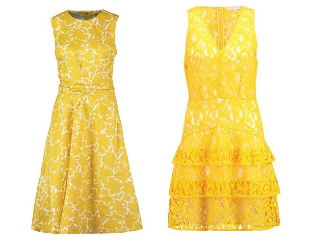 Gelbe Kleider 03