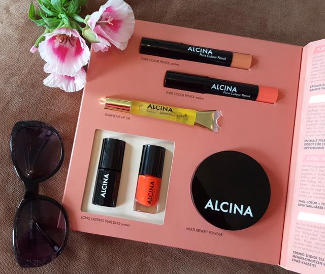 Glowing Summer Make-up Set von Alcina 01