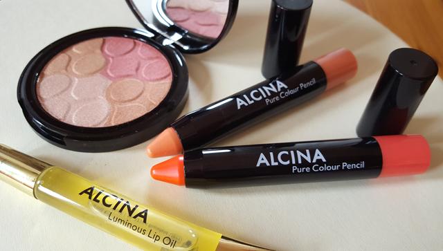 Glowing Summer Make-up Set von Alcina