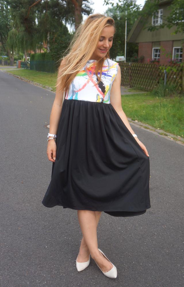 Outfit Giles Deacon Dress Kleid 04