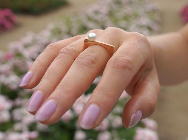 Heideman Ring Margarita mit Swarovski-Perle 08