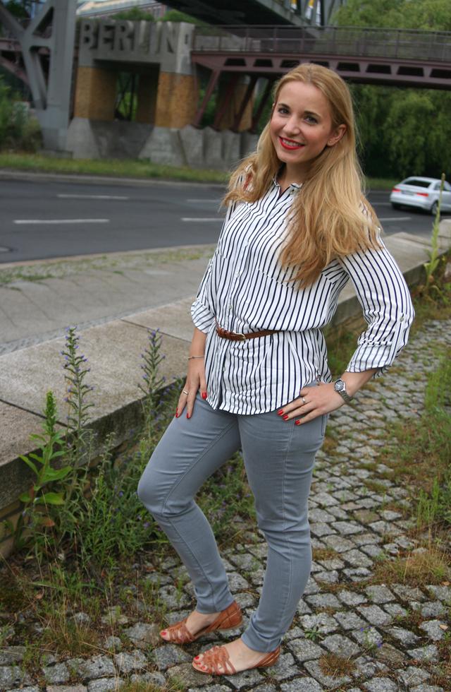 Oasis Streifenshirt Outfit 03