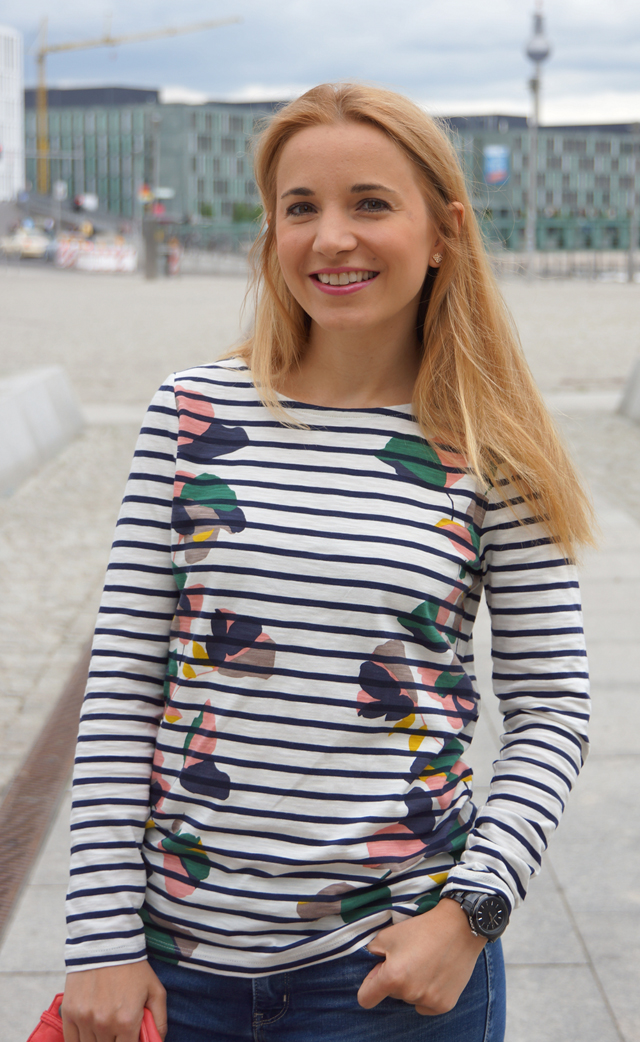 Outfit Spontane Sommerpause Streifenshirt Boden 05