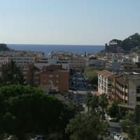 Blick auf Tossa de Mar