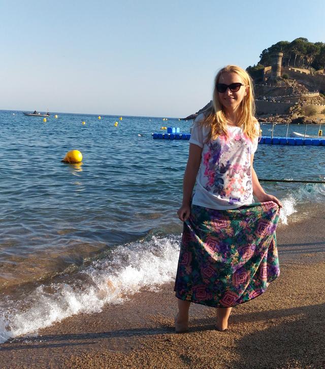 Marie in Tossa de Mar