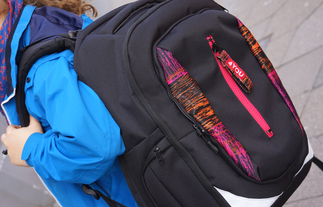 4YOU Rucksack Change your life Change your backpack Flap 01
