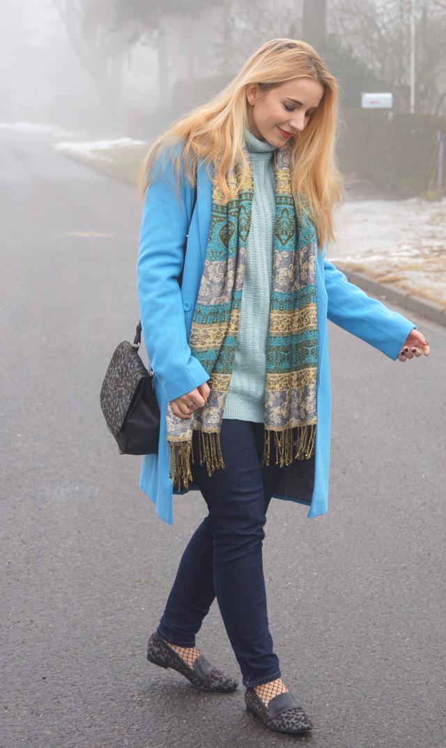 Outfit Boden Slipper Leopardenfellmuster 03